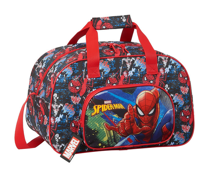 Bolsa deporte spiderman go hero