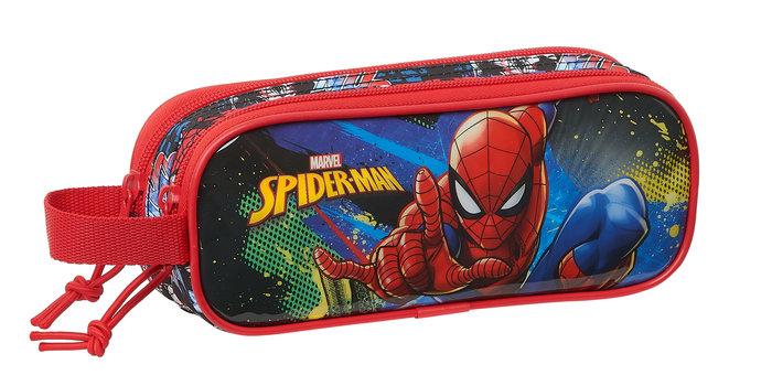 Portatodo doble spiderman go hero