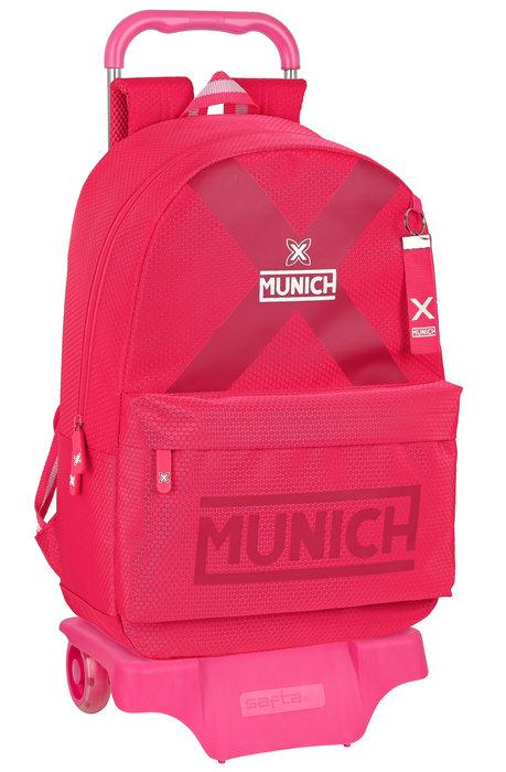 Mochila mod. 758 con carro 905 munich cherry