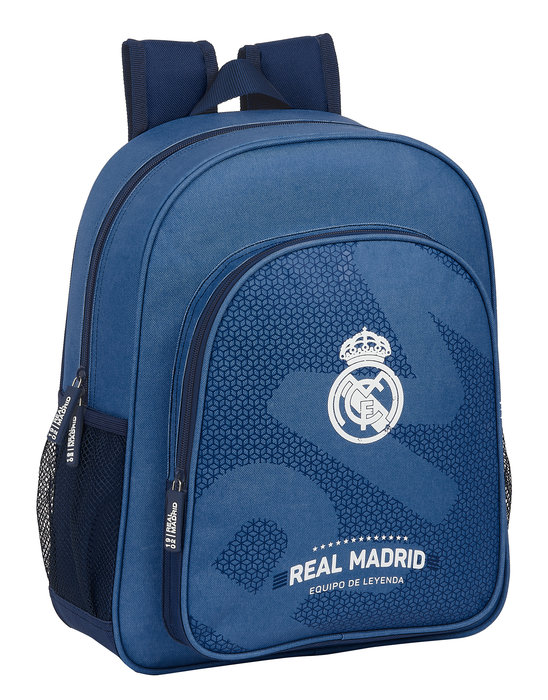 Mochila junior adaptable a carro real madrid corporativa