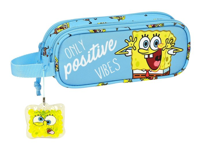 Portatodo doble bob esponja positive vibes