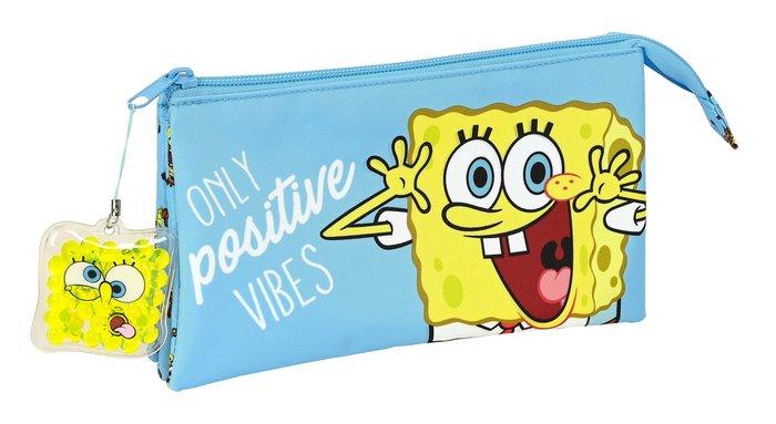 Portatodo triple bob esponja positive vibes