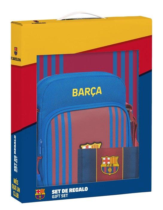 Set regalo pequeÑo f.c. barcelona 1ª equip. 21/22