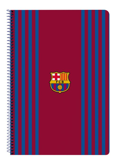 Libreta folio tapas duras 80 h. f.c. barcelona 1ª equip. 21/