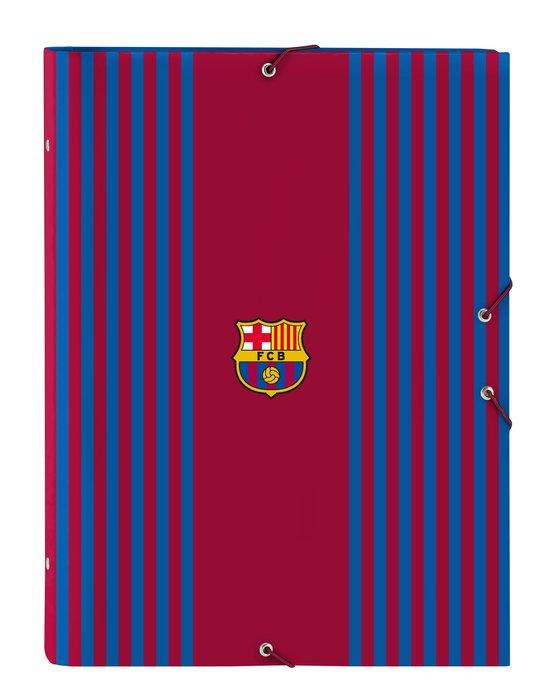 Clasificador carton folio 12 departamentos f.c. barcelona 1ª