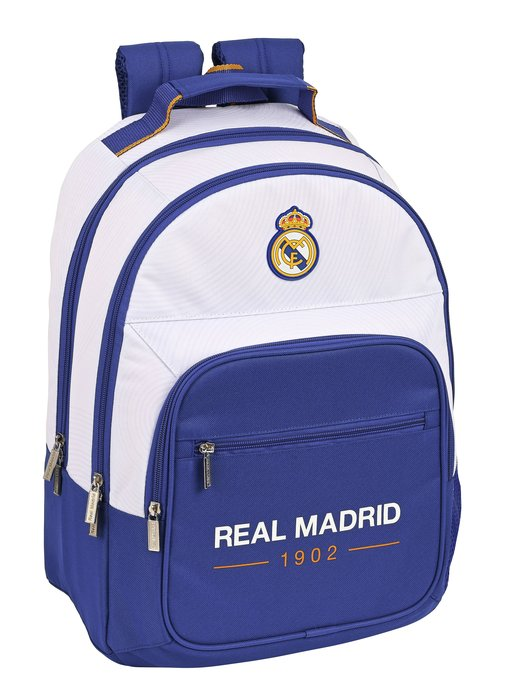 Mochila doble adaptable a carro real madrid 1ª equip. 21/22