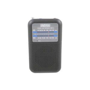 Radio daewoo analogica drp-8b negro