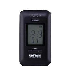 Radio daewoo digital drp-18b negro