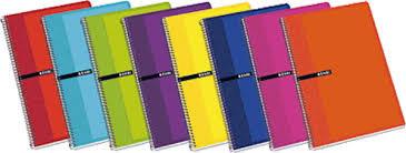 Bloc cuadro 4x4 folio 100h tapa extradura colores surtidos