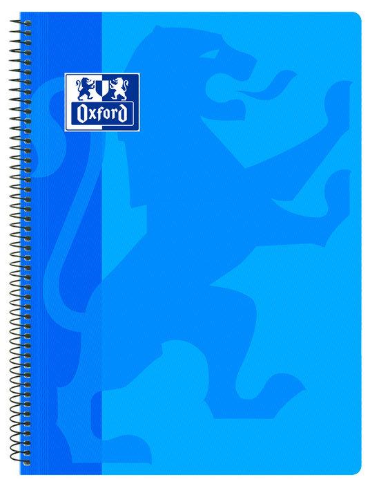 Bloc oxford folio school azul pp 80h cuadro 4x4 classic