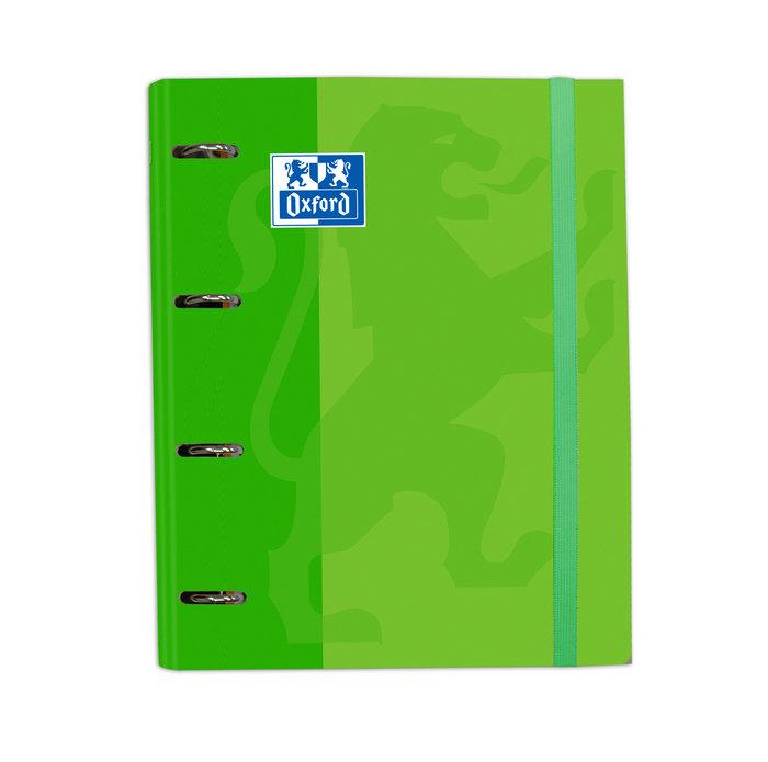 Carpebloc tapa extradura a4 con recambio 100h verde