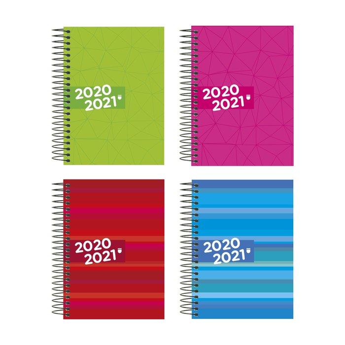 Agenda escolar 2020-2021 enri 4º dp espiral tapa extradura