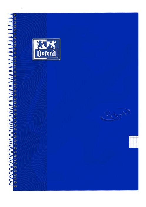 Bloc folio cuadro 4mm 80h extradura denim touch