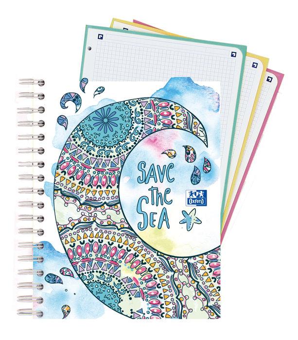 Bloc europeanbook 3 twist&colour a5+ 120h cuadro 5x5