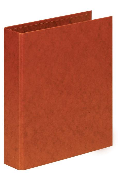 Carpeta folio 2 anillas 25mm carton cuero
