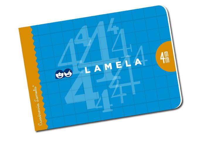 Libreta cuarto lamela cuadrovia 4mm 30h apaisada 06ap04