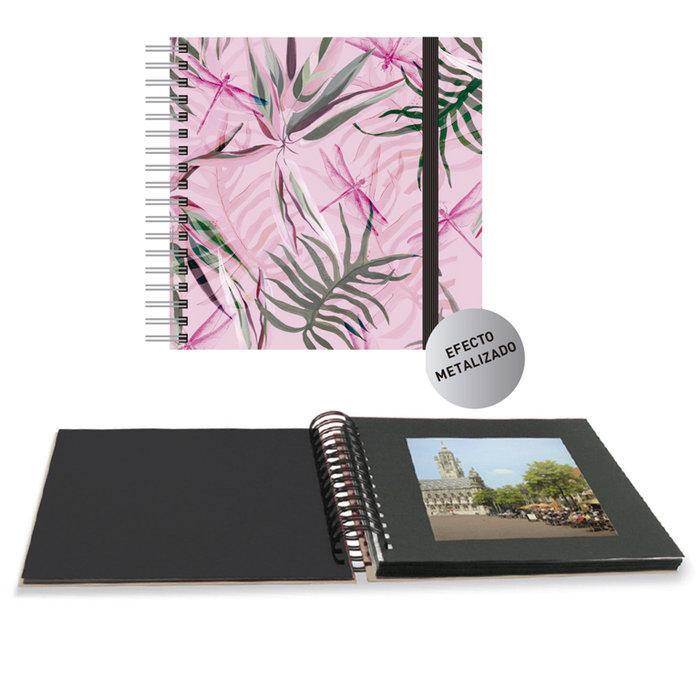 Album fotos espiral pink jungle 25 x 25