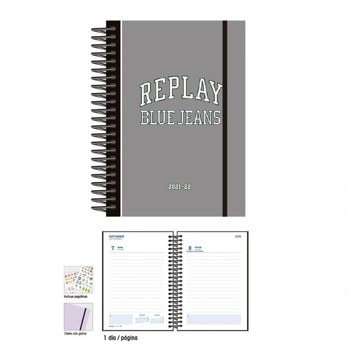 Agenda escolar 12 x 17  d/p replay