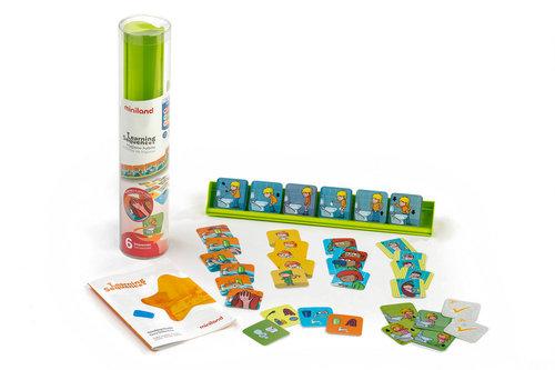 Juego aprende secuencias: habitos de higiene