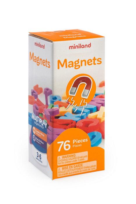 Juego letras mayusculas magnet 76 pcs