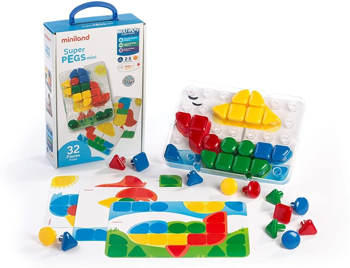 Juego superpegs mini 32 piezas
