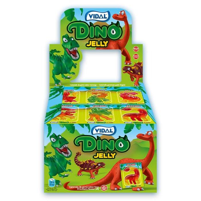 Golosina dino jelly  66 ud