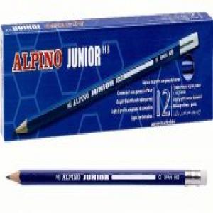 Lapices junior con goma hb 12 unidades