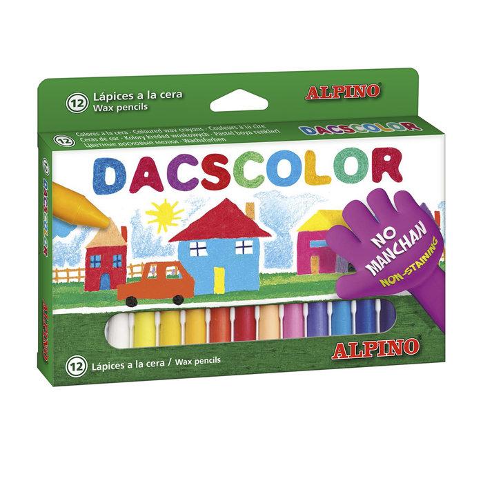 Cera dacscolor 12 colores surtidos
