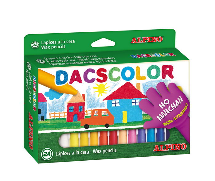 Cera dacscolor 24 colores surtidos