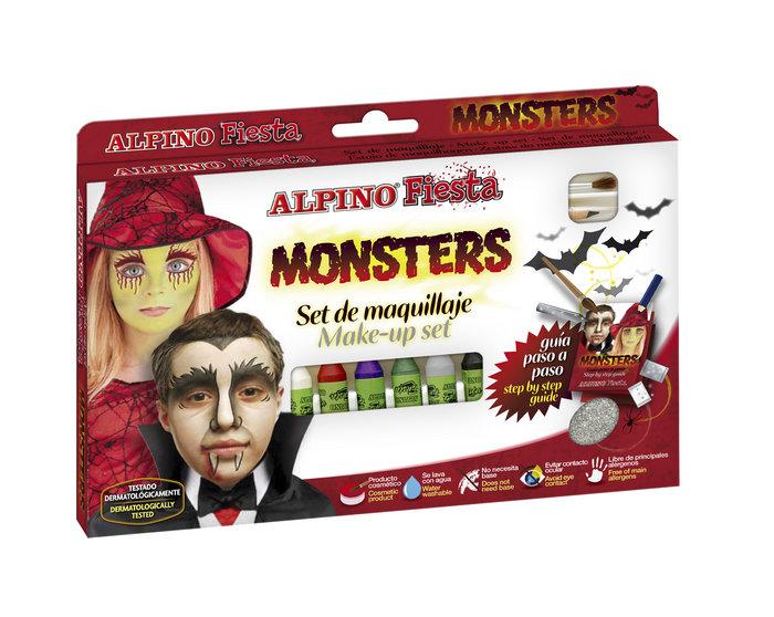 Maquillaje alpino set 6 un 5gr monster