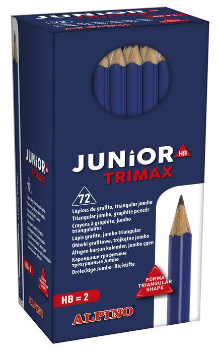 Lapices junior trimax hb 72 unid