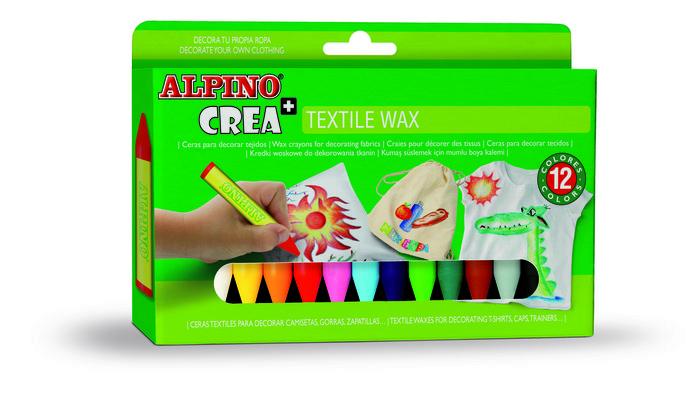 Cera alpino 12unid textile wax