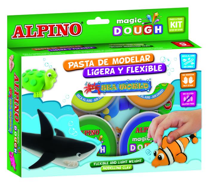 Pasta alpino magic dough sea world 6 x 40gr