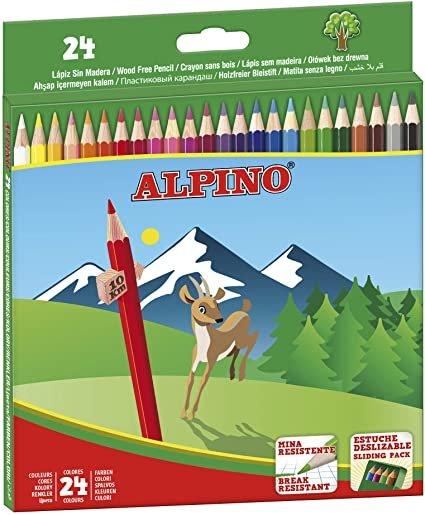 Lapiz alpino 24 colores + 6 gratis