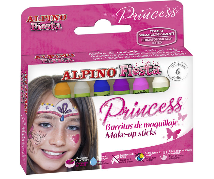 Maquillaje alpino set 6 un 5gr princesa