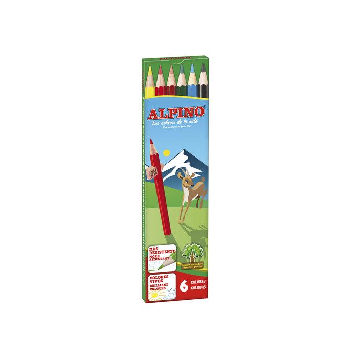 Lapices alpino estuche 6