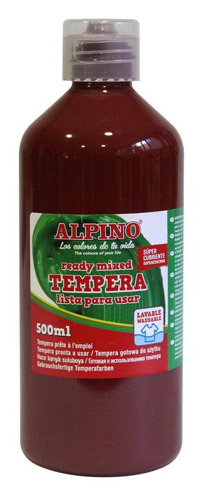 Tempera liquida alpino 500ml marron
