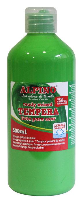 Tempera liquida alpino 500ml verde claro