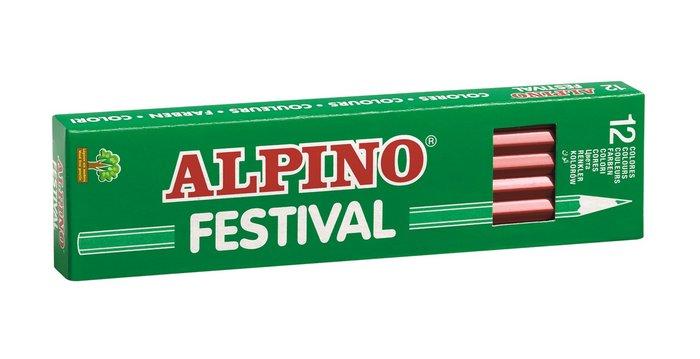 Lapiz alpino festival azul claro