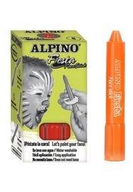 Maquillaje alpino set 6 unid face stick naranja
