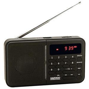 Radio daewoo digital drp-122b negro