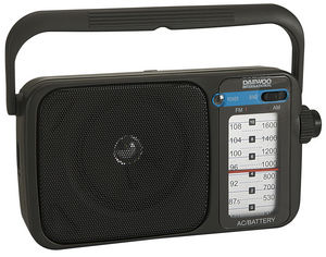 Radio daewoo analogica drp-123