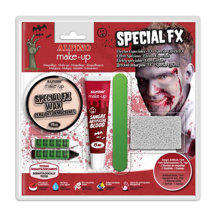 Blister alpino efectos especiales fx