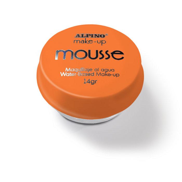 Maquillaje mousse alpino 14grs naranja