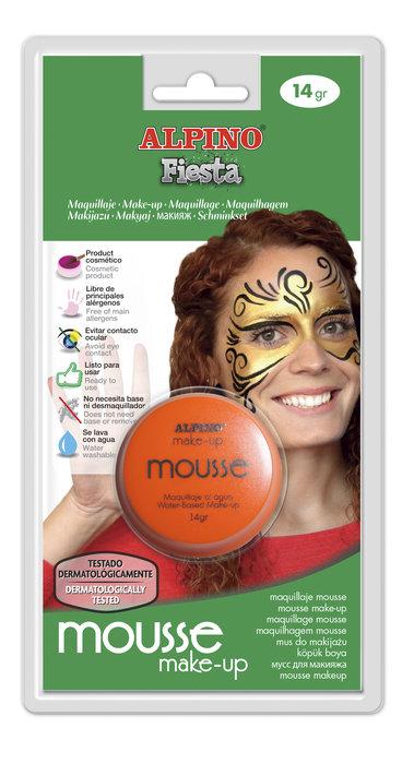 Maquillaje mousse alpino 14grs naranja blister
