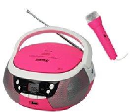 Radio cd karaoke daewoo rosa microfono usb
