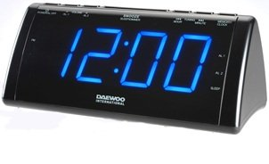 Reloj despertador daewoo digital carga moviles