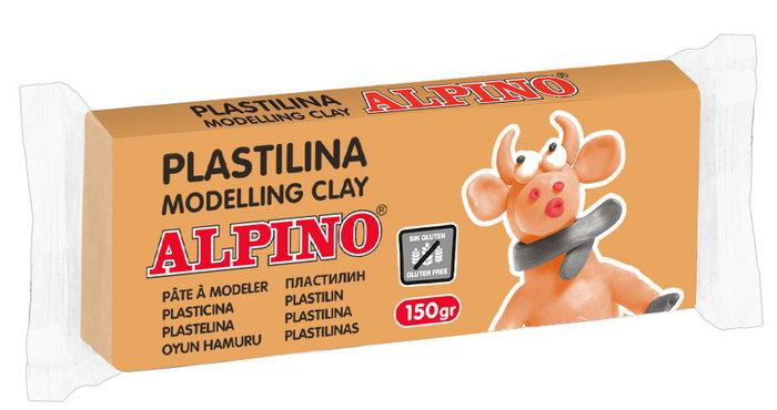 Plastilina alpino 150gr carne