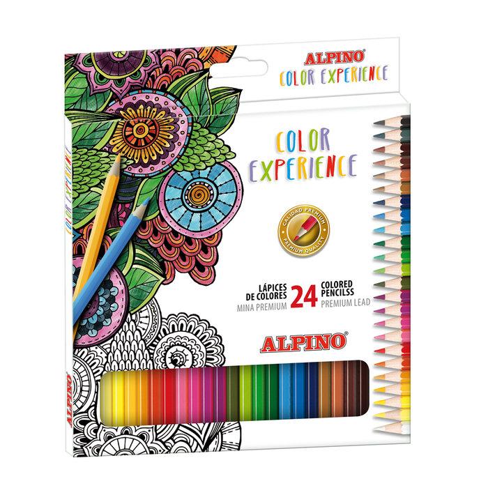 Lapiz alpino color experience 24 colores surtidos