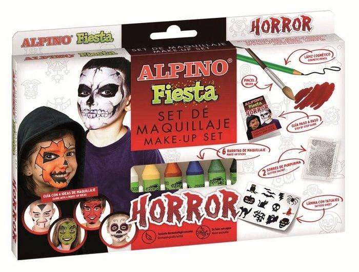 Set maquillaje alpino fiesta horror 6 uds surtidas